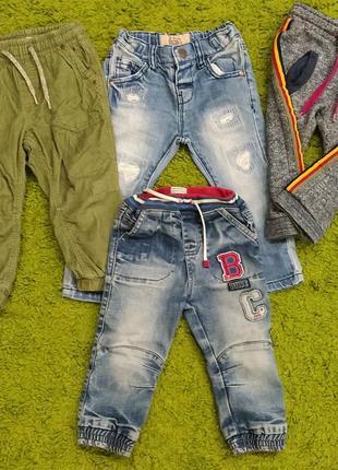 🧸❤️🧸стильні 👖 джинси,штани, джогери брендові для хлопчика 1-2роки