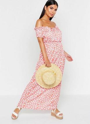 Новинка лета 2020. платье макси. бренд boohoo размер 44 новое.