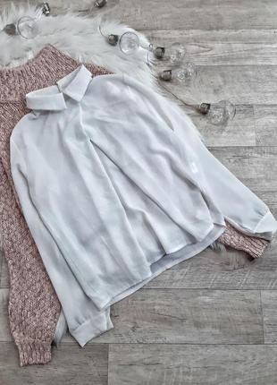 Белая блузка boohoo