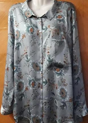 Primark   блуза рубашка р.18.
