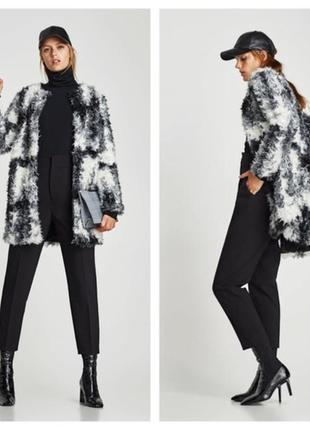 Великолепное пальто шубка от zara