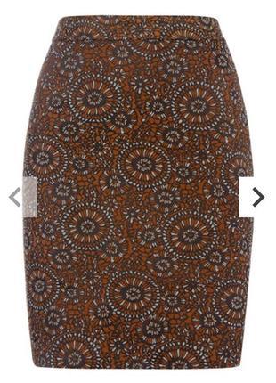 Оригинальная юбка в принт 16/50-52 размера