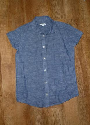 Льняная рубашка на 10 лет от debenhams
