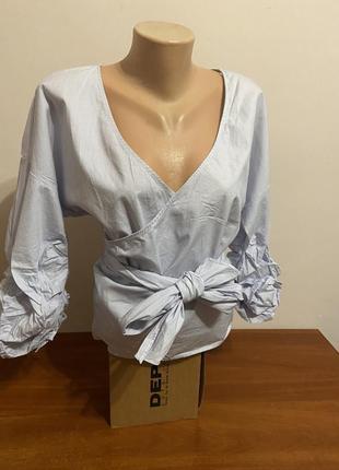 Невероятная блуза красивого нежного цвета