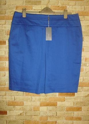 Оригинальная юбка с карманами на подкладке 18/52-54 размера et vous