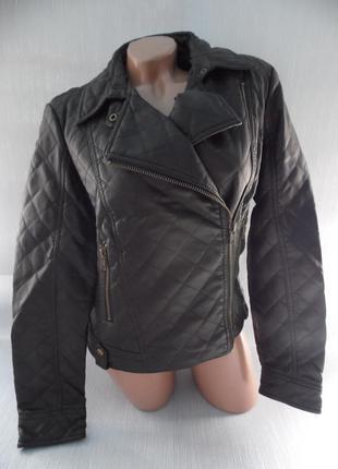 Куртка-косуха эко-кожа atmosphere