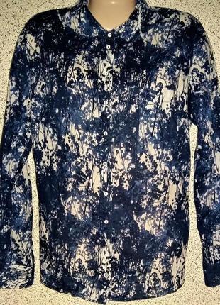 Стильная,модная брендовая рубашка от marc o'polo.оригинал