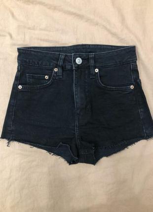 Шорты джинсовые талия