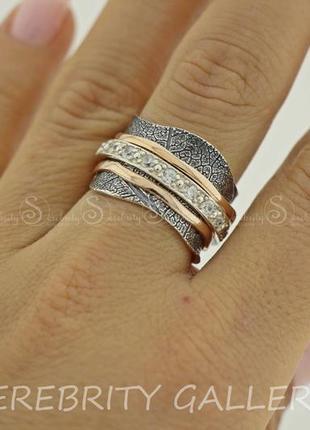10% скидка подписчику кольцо серебряное i 168665 bk w.gd 17,5 серебро 925