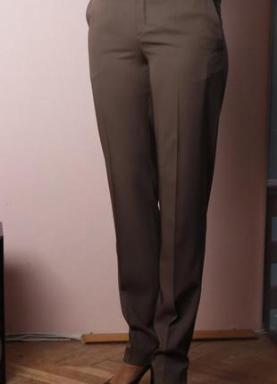 Брюки jean paul gaultier, 100% шерсть, р.40
