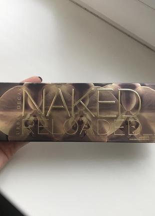 Палетка теней naked reloaded