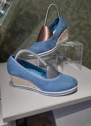 Туфли женские замша 37р graceland