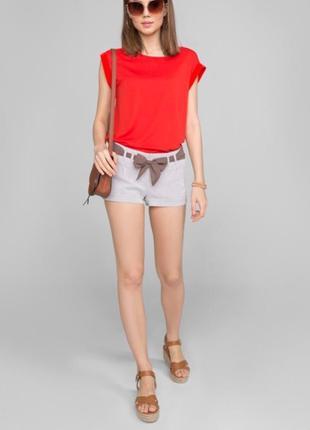Шикарная красная блуза от new look