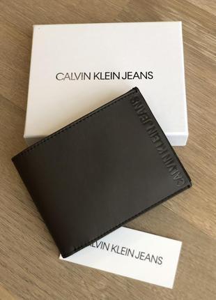 Calvin klein кошелёк, портмоне, мужской. кожа. майкл корс