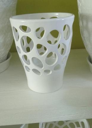 Кашпо-орхидейница керамическая