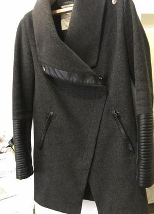 Пальто тренч куртка кожа