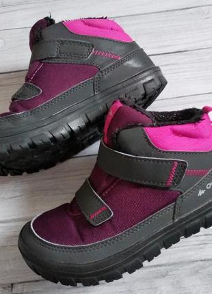 Деми ботинки quechua, стелька 19см
