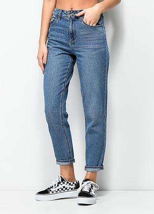 Винтажные джинсы мом классического цвета размер 158/xs