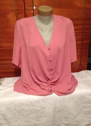 Стильна вільна блуза великого розміру /george/5 xl