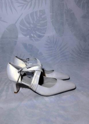Распродажа обуви! оригинал c. selvone кожаные лодочки, босоножки, туфли