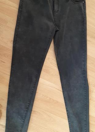 Стрейч котоновые брюки скины 52р