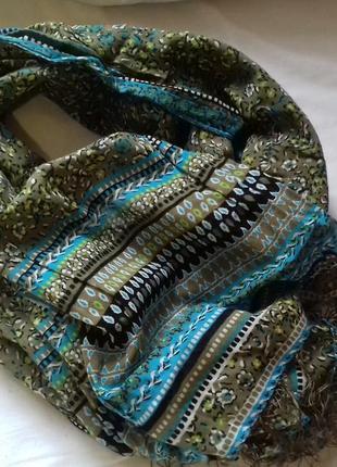 Большой, стильный шарф-палантин фирмы h&m