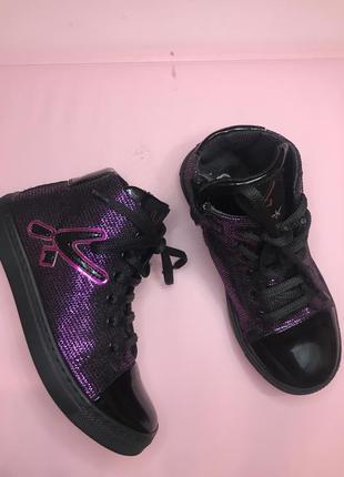 Яркие демисезонные ботинки 30 р
