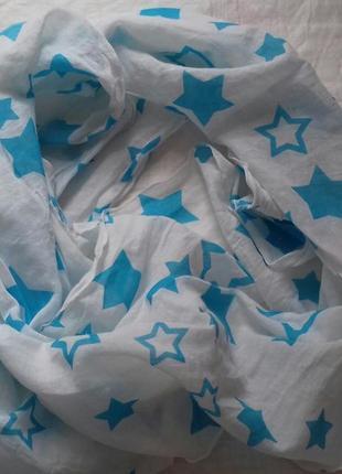 Стильный, летний шарф
