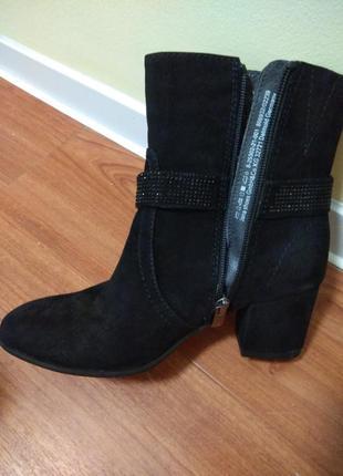Ботинки испания, ботильоны италия, сапоги замш, брендовая обувь