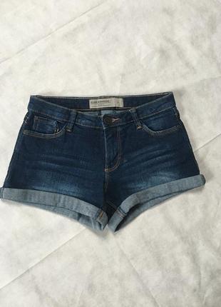Стильные🔥🔥🔥короткие шорты джинсовые шортики с потертостями clockhouse