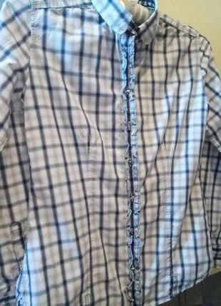 Рубашка клетка marc o polo