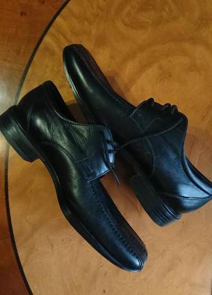 Фірмові англійські туфлі clarks,оригінал, нові, розмір 42-42,5.