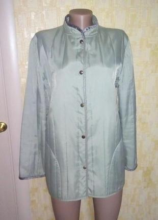 Легкая фирменная меланжевая куртка/куртка-ветровка/жакет/куртка/ветровка/пиджак/кофта