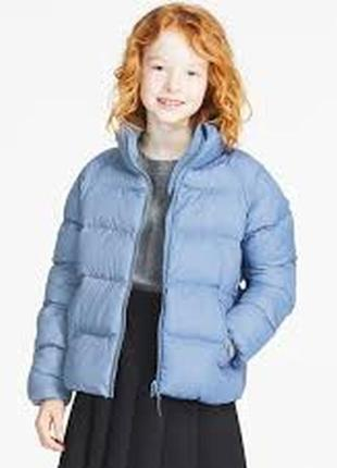 Курточка для девочки uniqlo размер 9-10 лет