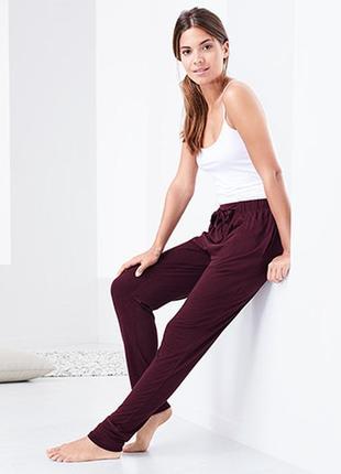 Домашние брюки, пижамные штаны xl 48-50 euro tchibo, германия, марсала