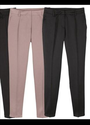 Розовые брюки штаны от esmara by heidi klum 38