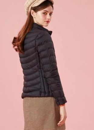 Ультра легкая демисезонная пуховая куртка курточка пуховик