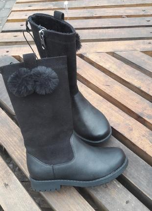 Ботиночки/ ботинки/ деми сапоги/ hm