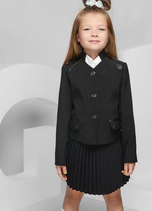 Школьная форма юбка пиджак р. 116 122 128 lakshmi mix