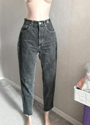 Офигенные джинсы versace посадка высокая/m оригинал
