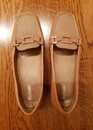 Туфли мокасины балетки geox размер 37