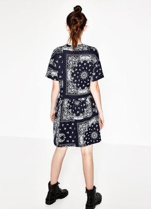 Сукня zara в стилі оверсйз