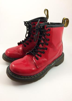 Dr martens мартинси кожаные ботинки оригинал