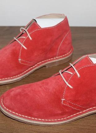 Замшевые ботинки ecco tripoli, 37 размер