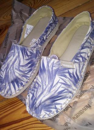 Еспадрильї,мокасини,туфли havaianas