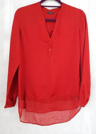 Шелковая фирменая блуза