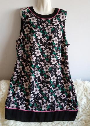Платье в цветы, redhering, р. 20/4 xl