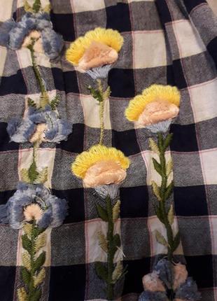 Обалденная вышиванка ..блузка оверсайз
