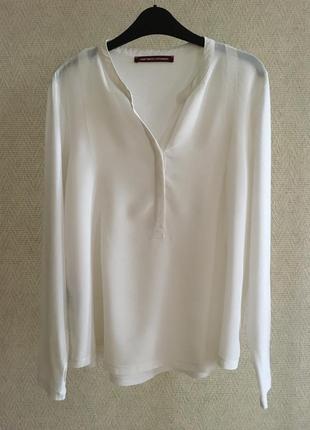 Шелковая блуза comptoir des cotonniers