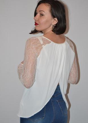 Красивая блуза с открытой спинкой5